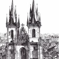 The Tynn Church of Prague