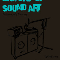 Flyer Redesign: History of Sound Art