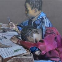Schoolchildren in Nairobi