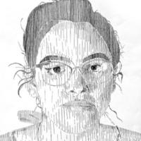 Line Pattern Self-Portrait