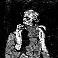 Self-Portrait in Stripes